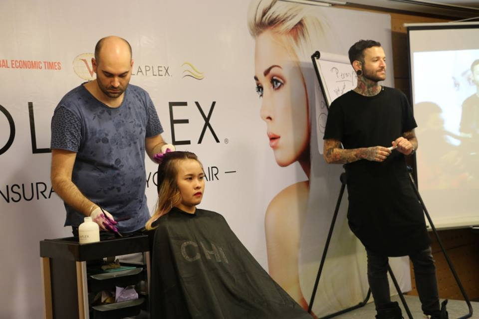 opcosmetics Olaplex Asia open day