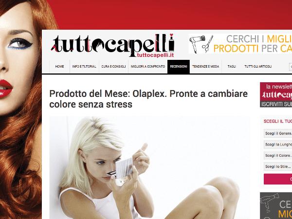 Olaplex su TuttoCapelli