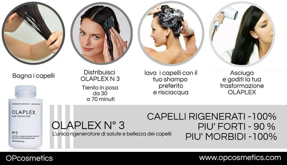 come si usa olaplex 3