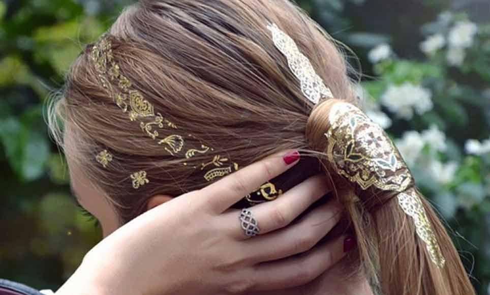 Hair Tattoo: tatuaggi sui capelli