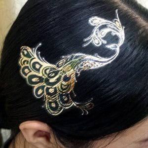 tatoo per capelli