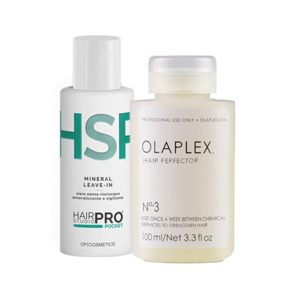 Hair Studio Pro Pocket Mineral Leave In + Olaplex n.3