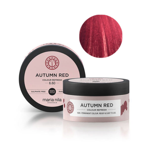 Maschera pigmentata Autumn Red 6.60 Maria Nila 100 ml