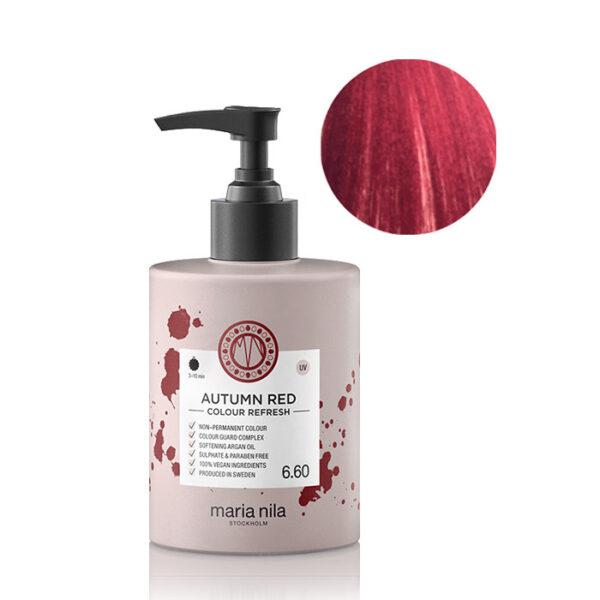 Maschera pigmentata Colour Refresh Autumn Red 6.60 Maria Nila