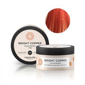 Maschera pigmentata Bright Copper 7.40 Maria Nila 100 ml