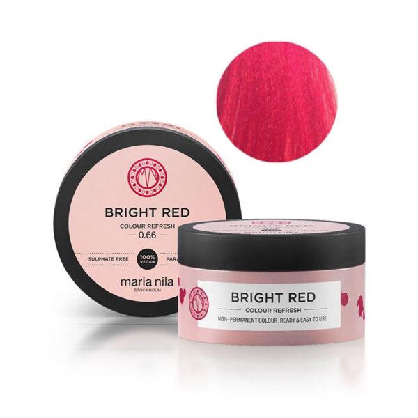 Maschera pigmentata vegan Bright Red 0.66 100 ml