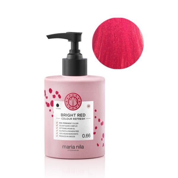 Maschera pigmentata vegan Bright Red 0.66 300 ml