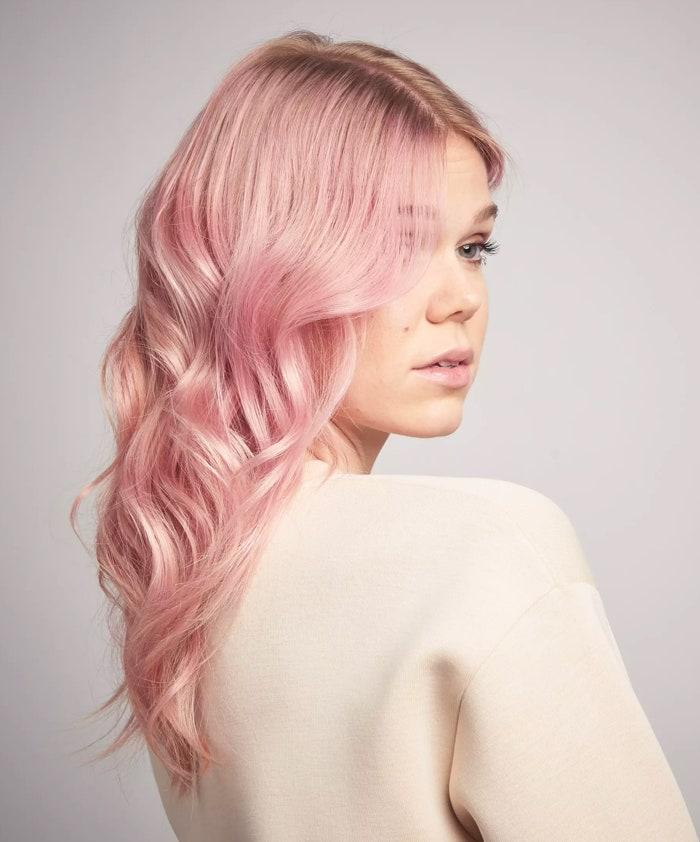 Capelli rosa maschera pigmentata