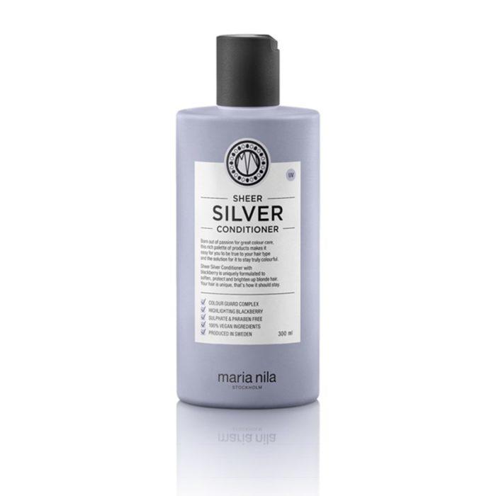 Balsamo antigiallo conditioner Sheer Silver 300 ml Maria Nila