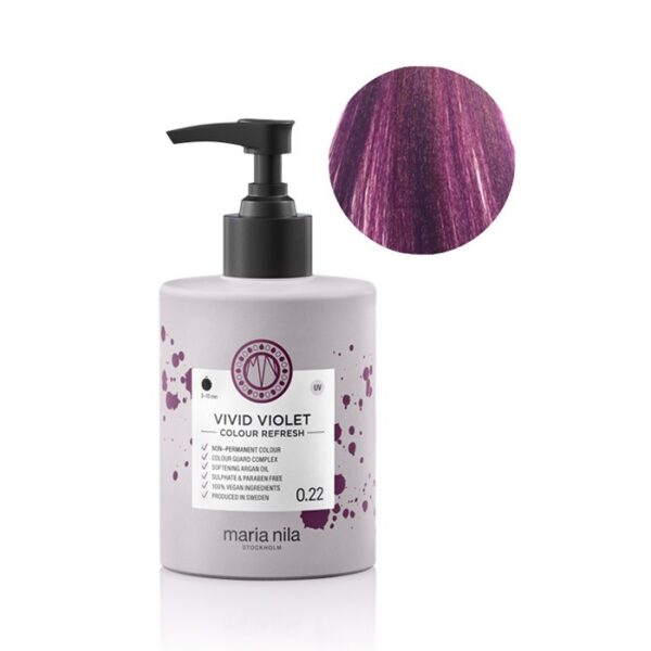 Maschera pigmentata vegan Vivid Violet 0.22 300 ml