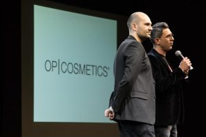 3 Davide Puglia e Carlo Oliveri all'evento OP Cosmetics