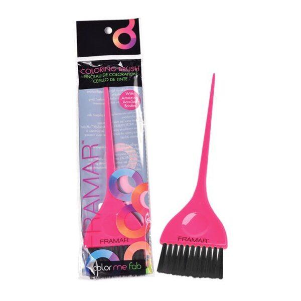 Pennello tinta capelli rosa Single Coloring Brush Framar