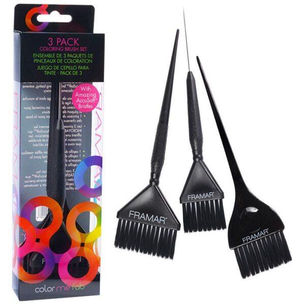 Variety Color Brush Set Pennelli Tecnici Framar
