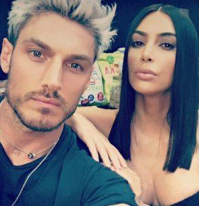 Kim Kardashian con Chris Appleton