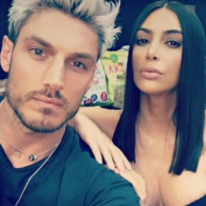 Kim Kardashian con Chris Appleton