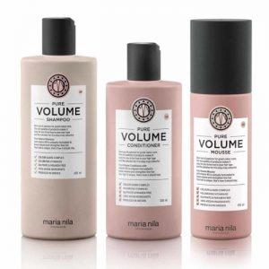 Kit Volume Maria Nila: Shampoo + Conditioner + Mousse