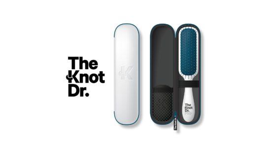 Modello spazzola districante the knot dr.
