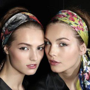 Fascia foulard capelli