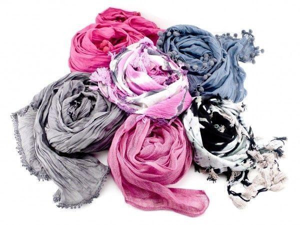 foulard colorati capelli