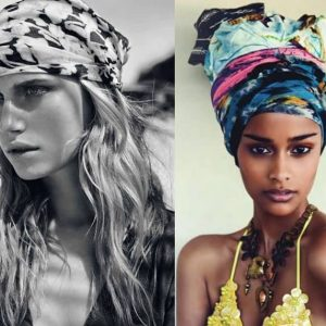 Tendenza capelli turbante