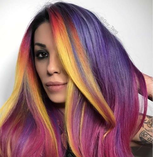 Scheda tecnica tinta capelli Rainbow