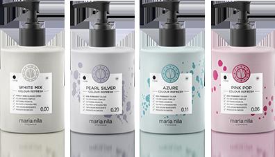 Maschere Colour Refresh Maria Nila per tonalità neutralizzanti