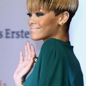 Rihanna Bowl Cut Short