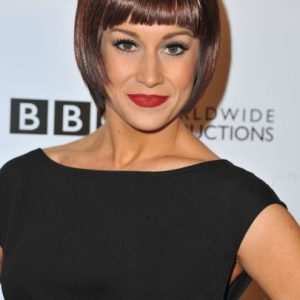 Kellie Pickler Bowl Cut Long