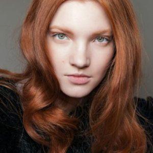 Ginger Biscuit Colore Moda Capelli Rossi 2018