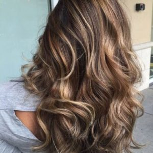 Golden Brown Capelli Colorati 2018