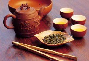 Tè verde per tingere naturalmente i capelli