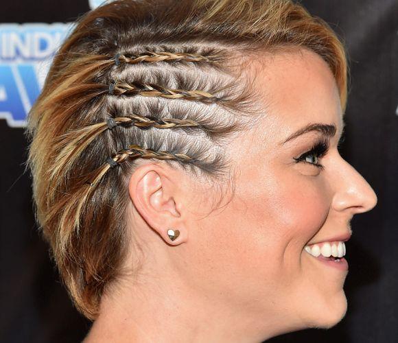 Treccine attaccate alla testa; Acconciature capelli con treccine sulla testa
