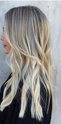 Shatush Ice Blonde