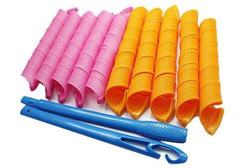 Spiral curler accessori capelli