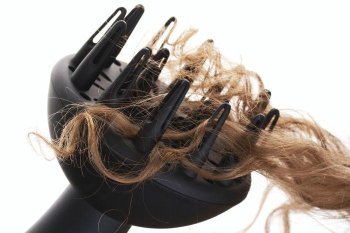 Diffusore per arricciare i capelli