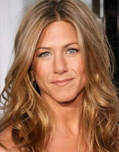Degradè biondo Jennifer Aniston