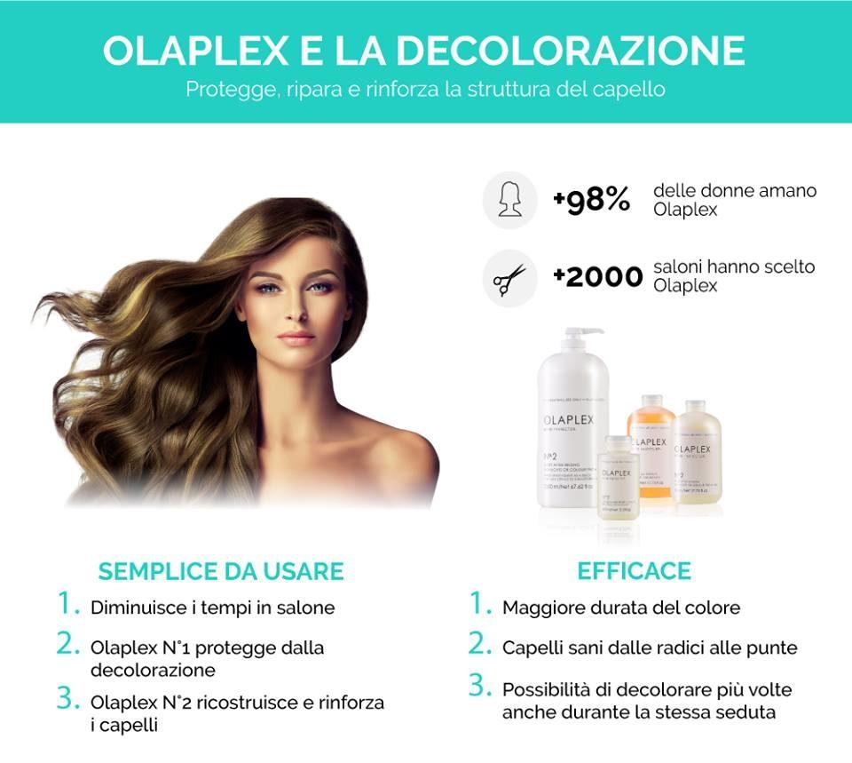 Decolorazione sicura con Olaplex