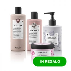 Kit Look Biondi Pearl Silver Pink Pop