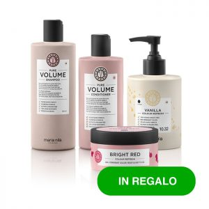 Kit Look Biondi Vanilla Bright Red