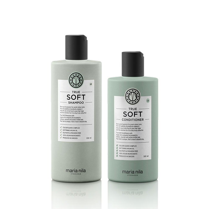 Kit True Soft shampoo conditioner
