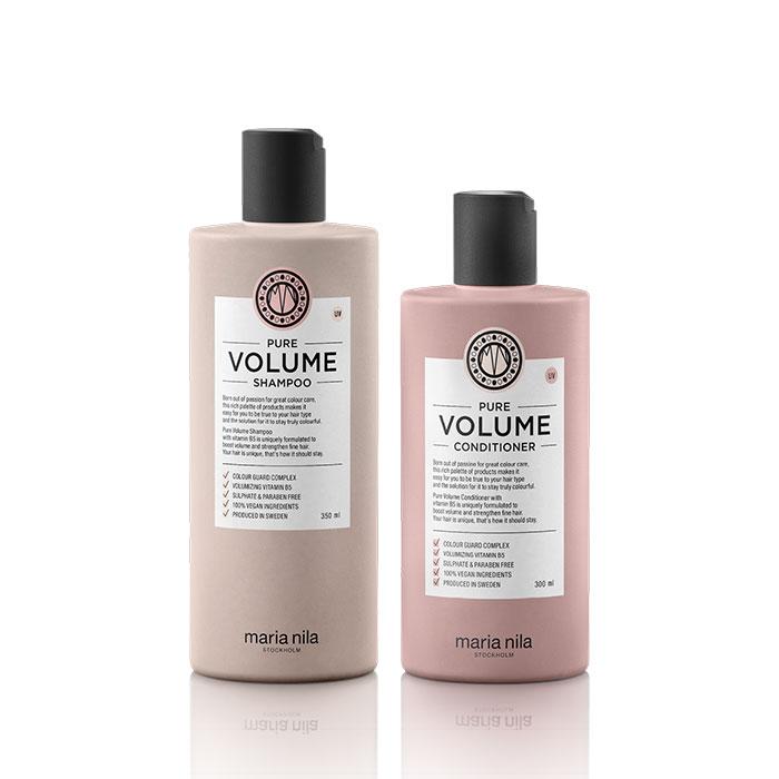 Kit Pure Volume shampoo conditioner