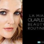 Olaplex routine Drew Barrymore