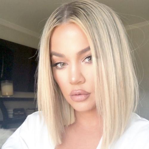 Bob capelli biondi Kylie Kardashian