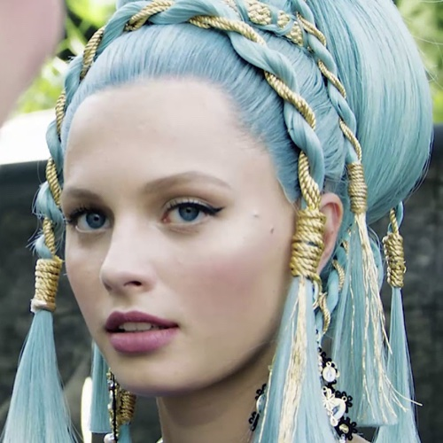 d&g loves como capelli azzurri 2