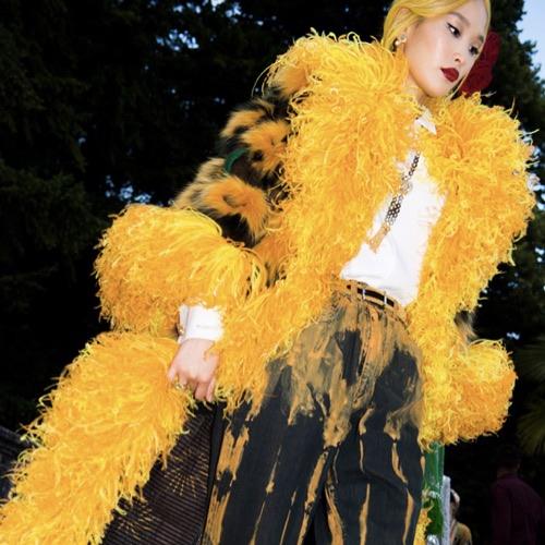 Sfilata Dolce & Gabbana Como capelli pastello