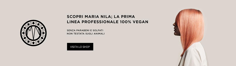 Prodotti vegani capelli Maria Nila