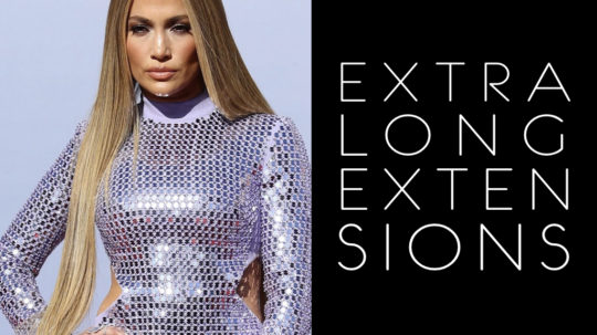 Extension capelli Jennifer Lopez