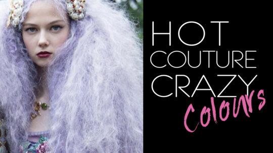Crazy colours capeli Dolce Gabbana