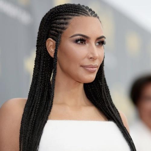 Treccine Kim Kardashian moda capelli 2018