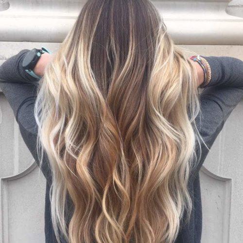 Colore capelli dark gold